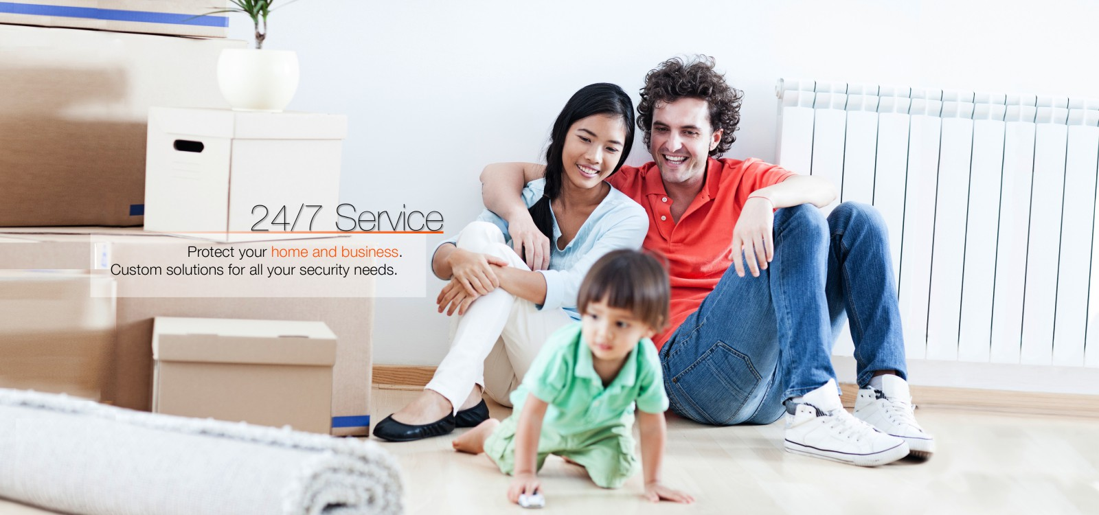 Residential alarm services with Ambit Security Systems
